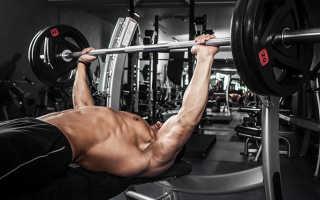 Как накачать грудные мышцы гантелями упражнения для тренировки