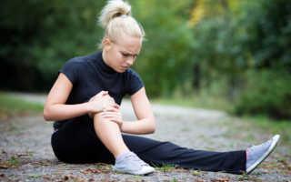 Повреждение связок колена лечение