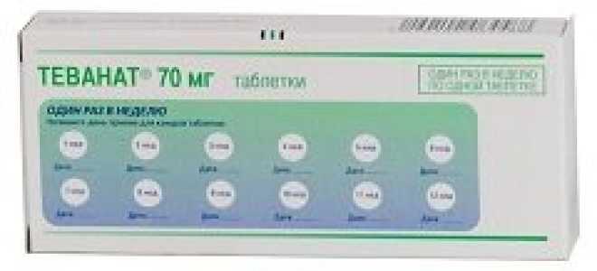 Инструкция по применению цена и аналоги препарата Теванат
