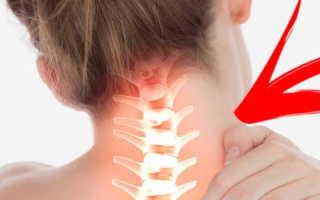 Лечебные упражнения при остеохондрозе шейно-грудного отдела позвоночника