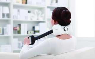 Электромассажер для шеи и плеч при остеохондрозе: список лучших приборов