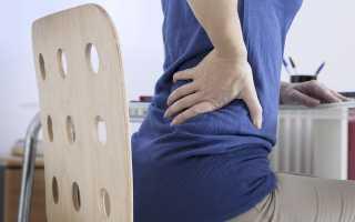 Боли в спине в положении сидя Причины боли в спине
