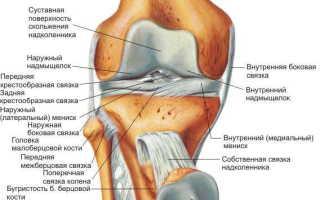 Болезни коленных суставов лечение народными средствами