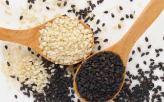 Применение семян кунжута в лечебных целях